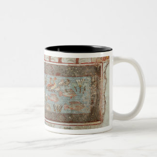 Garden of a private estate with an ornamental mugs