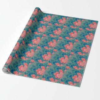 Garden of Beauty & Love Fractal Art Wrapping Paper