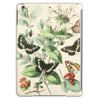 Garden of Butterflies and Flowers Cover For iPad Air