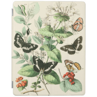 Garden of Butterflies and Flowers iPad Cover