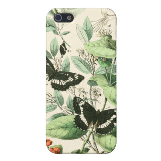 Garden of Butterflies and Flowers iPhone 5 Covers