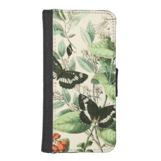 Garden of Butterflies and Flowers iPhone 5 Wallets