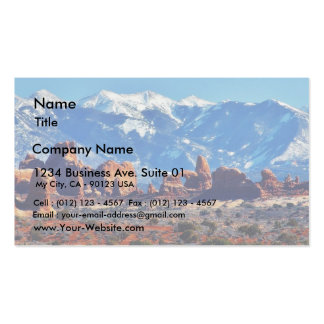 Garden Of Eden At Arches National Park Business Cards