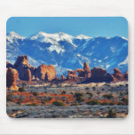Garden Of Eden At Arches National Park Mouse Pad