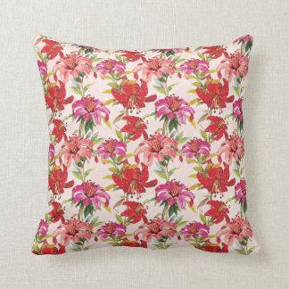Garden of lilies American MoJo Pillow Throw Cushions