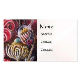 GARDEN OF MELISSA .detail pearl Business Cards