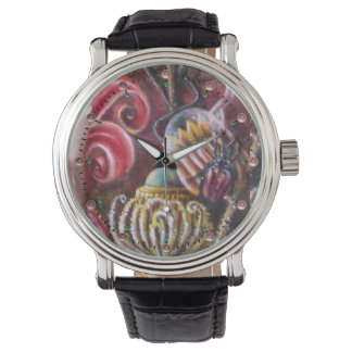 GARDEN OF MELISSA / Magic Flowers With Scarab Watch