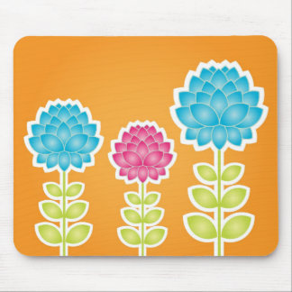 Garden of peonies mousepad