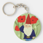 Garden of Remembrance Gnome Keychain