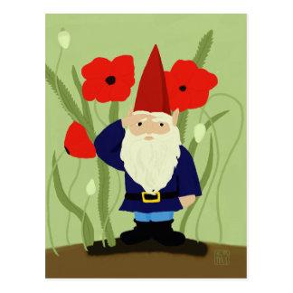 Garden of Remembrance Gnome Postcard