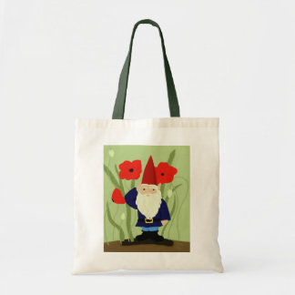 Garden of Remembrance Gnome Tote Bags