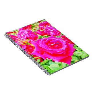 Garden of Roses Spiral Notebook