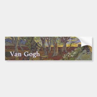 Garden of Saint Paul's Hospital Vincent Van Gogh Car Bumper Sticker