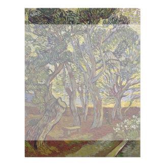 Garden of Saint Paul's Hospital Vincent Van Gogh Full Color Flyer