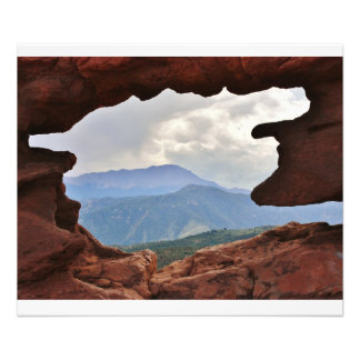 Garden of the God s with a view of Pike s Peak Photo