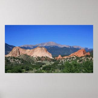 Garden of the Gods Colorado Poster