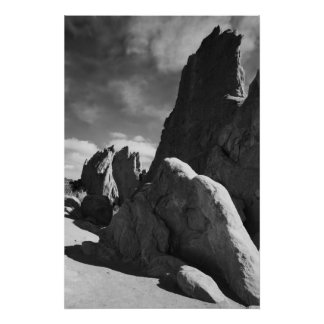 Garden of the Gods, Colorado Springs Poster
