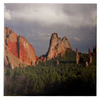 Garden of the Gods Large Square Tile