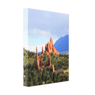 Garden of the Gods park Colorado canvas print