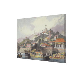Garden of the Imperial Palace, Peking, from 'China Canvas Print