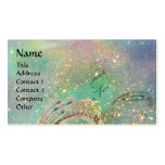 GARDEN OF THE LOST SHADOWS BUTTERFLY MONOGRAM teal Pack Of Standard Business Cards