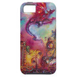 GARDEN OF THE LOST SHADOWS  / FLYING RED DRAGON iPhone 5 CASE