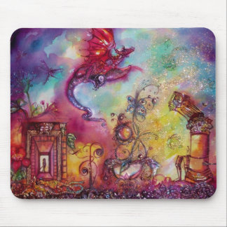 GARDEN OF THE LOST SHADOWS -FLYING RED RAGON MOUSE MAT