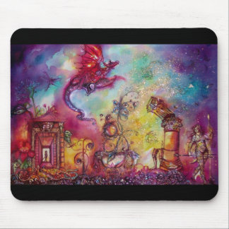 GARDEN OF THE LOST SHADOWS -FLYING RED RAGON MOUSE PADS
