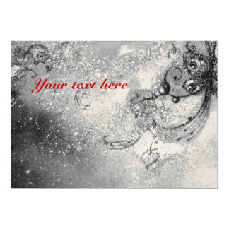 GARDEN OF THE LOST SHADOWS -MAGIC BUTTERFLY gold 13 Cm X 18 Cm Invitation Card