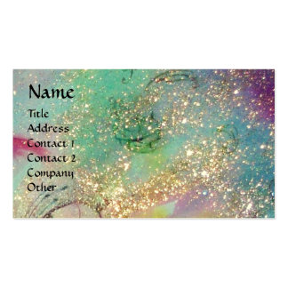 GARDEN OF THE LOST SHADOWS - MAGIC BUTTERFLY PLANT BUSINESS CARD TEMPLATE