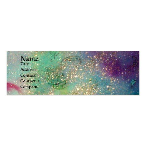 GARDEN OF THE LOST SHADOWS - MAGIC BUTTERFLY PLANT BUSINESS CARD