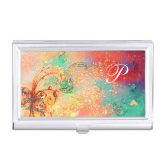 GARDEN OF THE LOST SHADOWS MAGIC BUTTERFLY PLANT BUSINESS CARD HOLDER