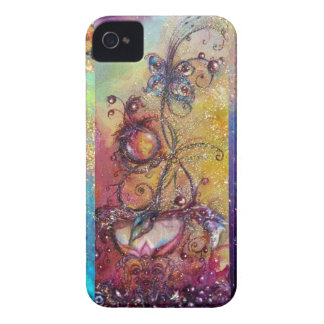 GARDEN OF THE LOST SHADOWS -MAGIC BUTTERFLY PLANT Case-Mate iPhone 4 CASES