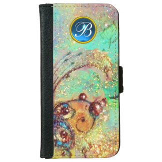GARDEN OF THE LOST SHADOWS -MAGIC BUTTERFLY PLANT iPhone 6 WALLET CASE