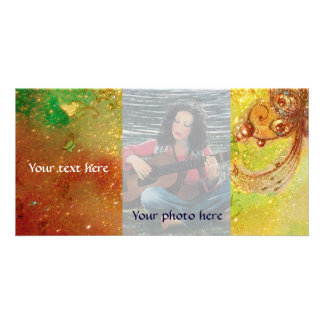 GARDEN OF THE LOST SHADOWS,MAGIC BUTTERFLY PLANT PERSONALISED PHOTO CARD