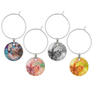 GARDEN OF THE LOST SHADOWS MAGIC BUTTERFLY PLANT WINE CHARMS