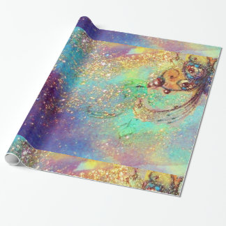 GARDEN OF THE LOST SHADOWS -MAGIC BUTTERFLY PLANT WRAPPING PAPER