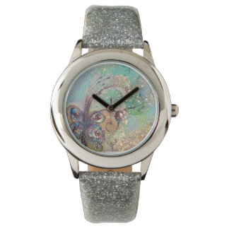 GARDEN OF THE LOST SHADOWS,MAGIC BUTTERFLY PLANT WRIST WATCHES