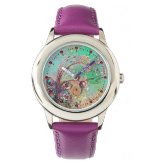 GARDEN OF THE LOST SHADOWS,MAGIC BUTTERFLY PLANT WRISTWATCHES