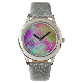 GARDEN OF THE LOST SHADOWS - Pink Purple Aqua Blue Watches