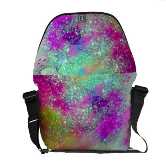GARDEN OF THE LOST SHADOWS -pink purple violet Courier Bags