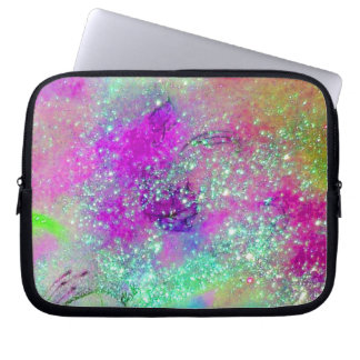 GARDEN OF THE LOST SHADOWS /pink purple violet Laptop Computer Sleeves