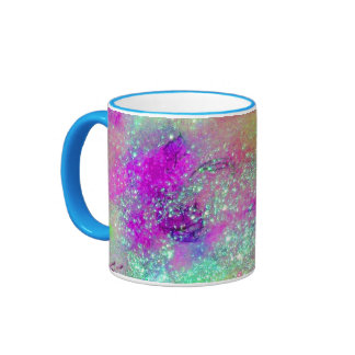 GARDEN OF THE LOST SHADOWS -pink purple violet Mugs