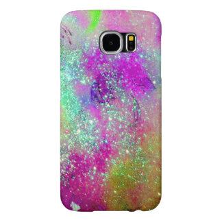 GARDEN OF THE LOST SHADOWS -pink purple violet Samsung Galaxy S6 Cases