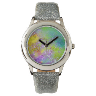 GARDEN OF THE LOST SHADOWS -  Purple Yellow Green Watches