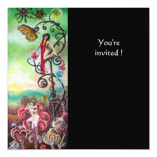 GARDEN OF THE MELISSA 13 CM X 13 CM SQUARE INVITATION CARD
