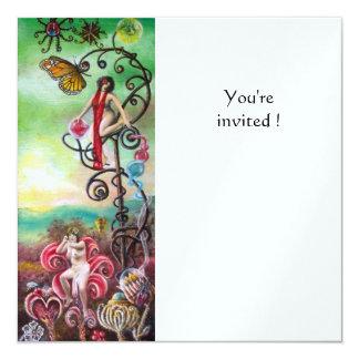 GARDEN OF THE MELISSA ice 13 Cm X 13 Cm Square Invitation Card