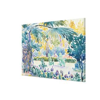 Garden of the Painter at Saint Clair Canvas Print