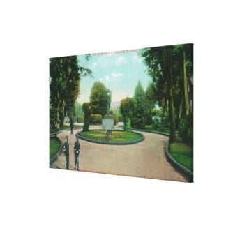 Garden of the Presidio View Gallery Wrap Canvas