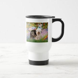 Garden - Old English 12 (standing) Stainless Steel Travel Mug